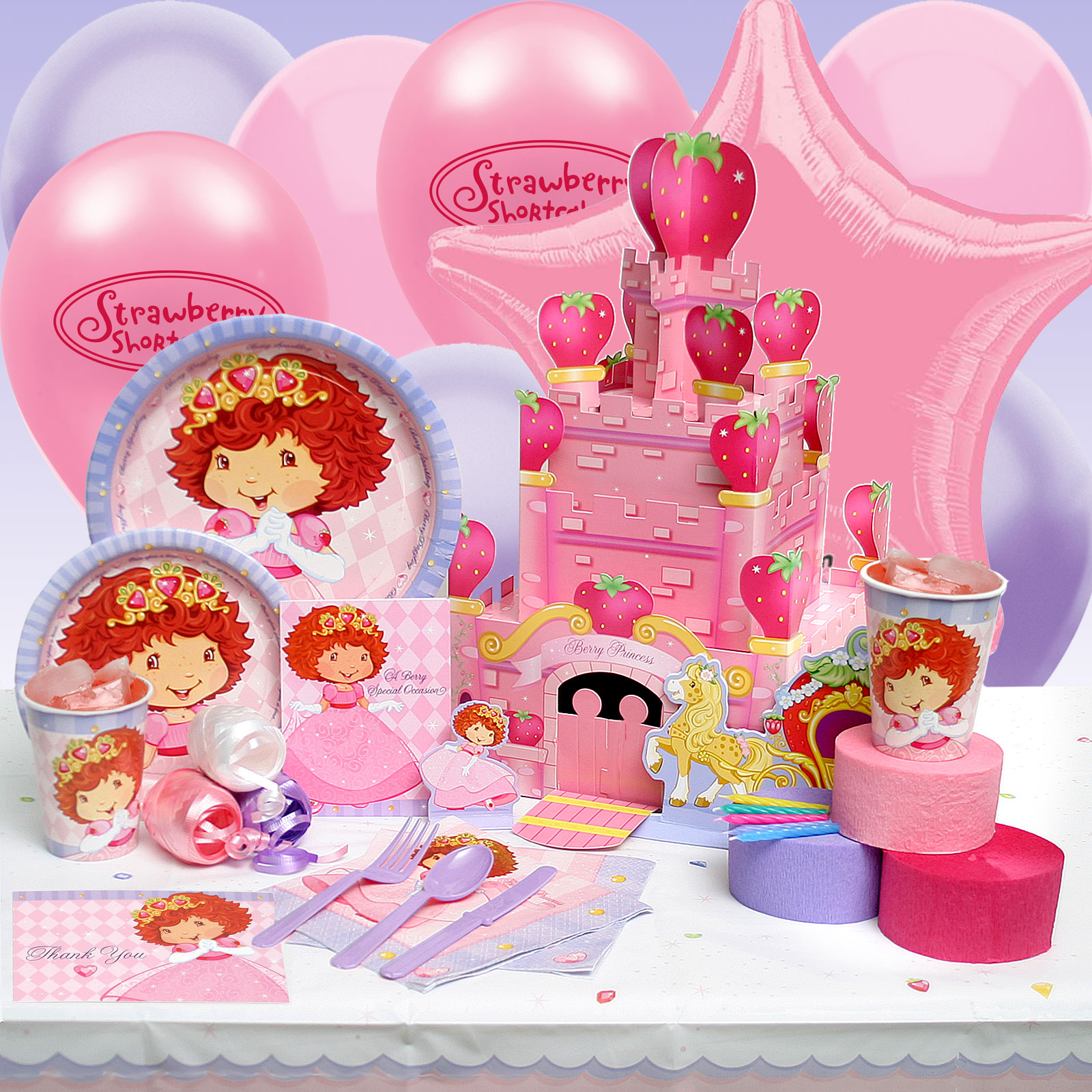 Strawberry Shortcake Party Supplies In Asia 3