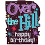 The Party Continues Over The Hill Glitter Cutout