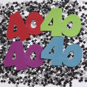 40 Large Confetti