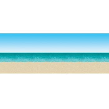 30' Blue Sky & Ocean Beach Backdrop