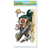 Fatal Treasure Peel 'N Place Wall Decoration (2 count)