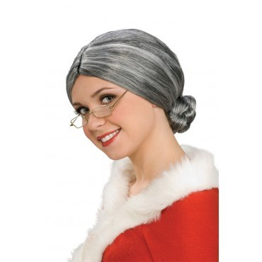 Deluxe Old Lady Wig for the 2015 Costume season.