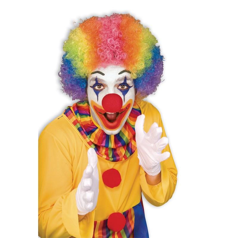 Rainbow Economy Clown Wig for the 2015 Costume season.