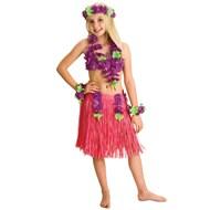 Luau Princess Paper Skirt Set  Child