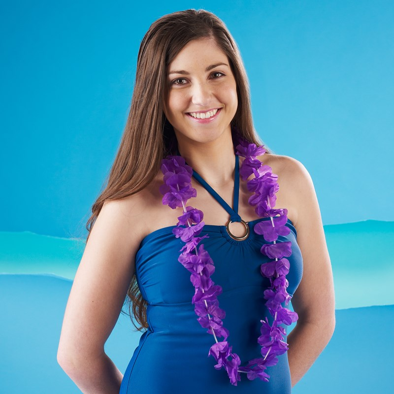 Island Lei Purple for the 2015 Costume season.