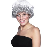 Betsy Ross Wig and Mop Cap