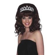 Beauty Queen Wig - Brown