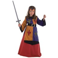 Medieval Warrior Girl Royal Collection Child