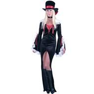 Dracula Velvet Dress  Adult