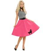Poodle Skirt Adult Plus Costume