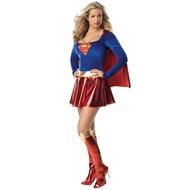 Supergirl Deluxe 1-Piece Adult