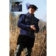 Scots Doublet (Admiral Navy) Renaissance Collection Adult