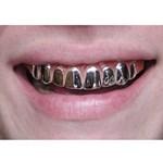 Platinum Metallic Grillz Teeth