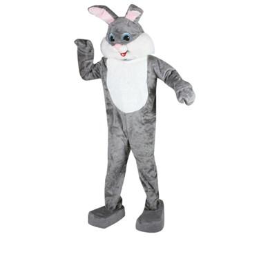 Rabbit Complete (Grey) Mascot Adult Costume