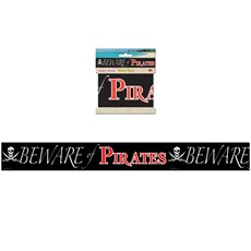 Beware of Pirates Party Tape - 20
