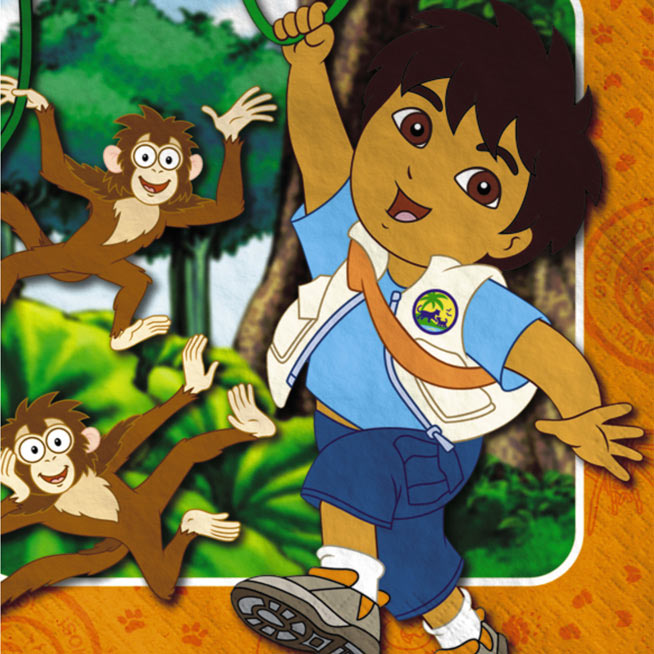 Nickelodeon Go Diego Go for Pinterest