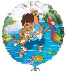 Go Diego Go 18' Foil Balloon