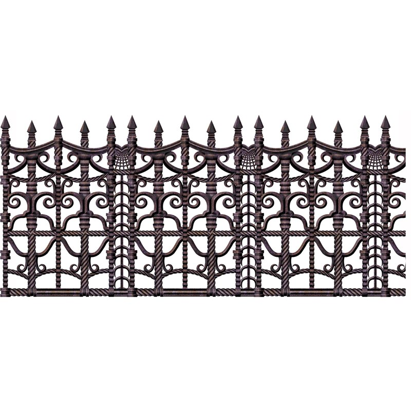 30 Creepy Fence Border Roll for the 2015 Costume season.