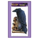 Raven & Skulls Peel N Place