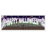 5' Happy Halloween Jumbo Banner