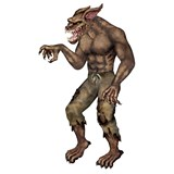 6' Jointed Werewolf Cutout