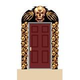 5' Skulls Eerie Entrance
