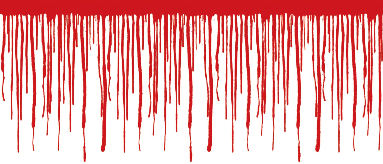 dripping blood clipart border free - photo #48