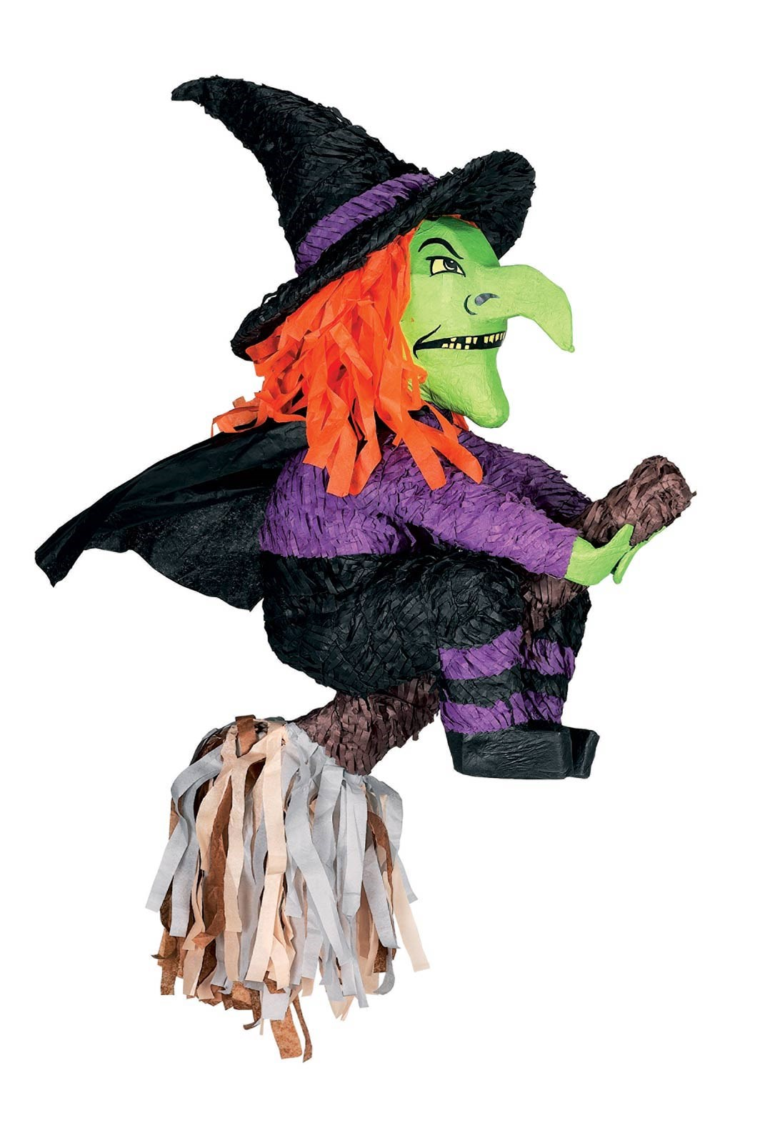 "Image of 23"" Witch Pinata"