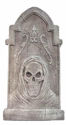 blank tombstone bearing
