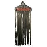 7' Welcome Grim Reaper Door Curtain