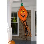 6'Pumpkin Wind Sock