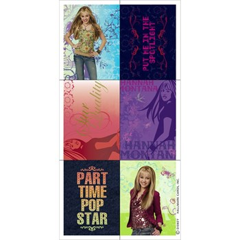 Hannah Montana Stickers (4 count)