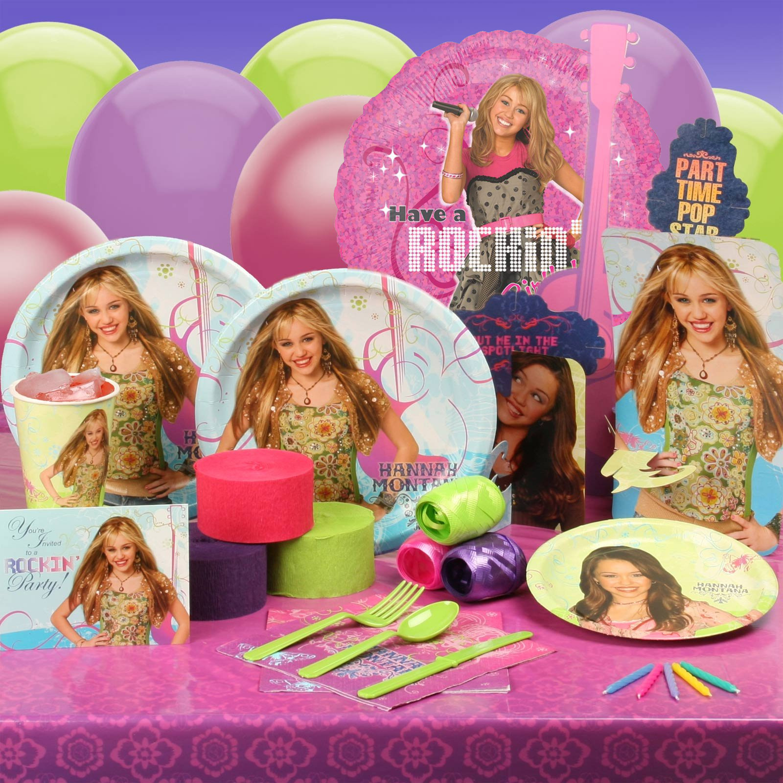 Hannah Montana cool stuff - Disney and Ashley rock
