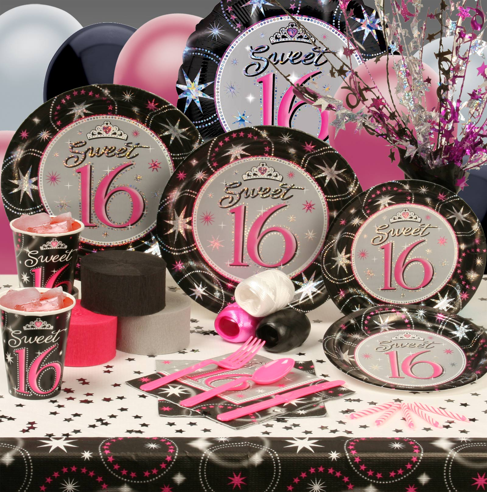 Sweet dress sweet 16 party themes for 16th birthday decoration ideas