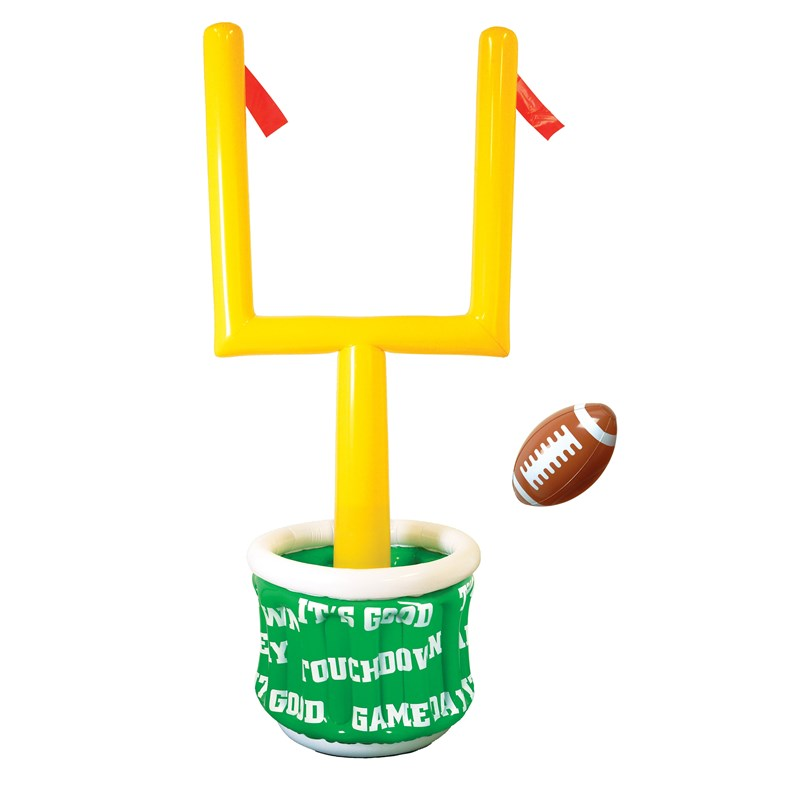 6 Inflatable Goal Post Cooler with Football for the 2015 Costume season.