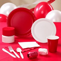 Red White Party Supplies