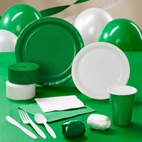 Green White Party Supplies