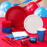 Red, White Blue Party Supplies