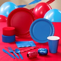 Red Blue Party Supplies
