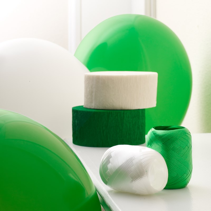 Green and White Decorating Kit for the 2015 Costume season.