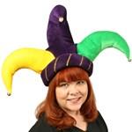 Plush Jester Hat