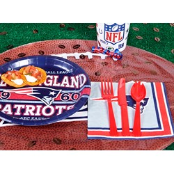 New England Patriots Deluxe Party Kit
