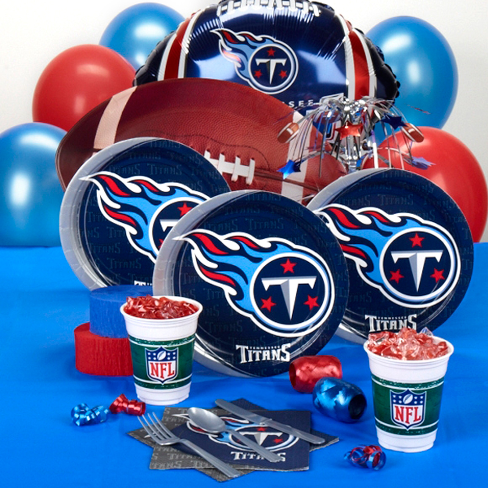 Tennessee Titans Deluxe Party Kit