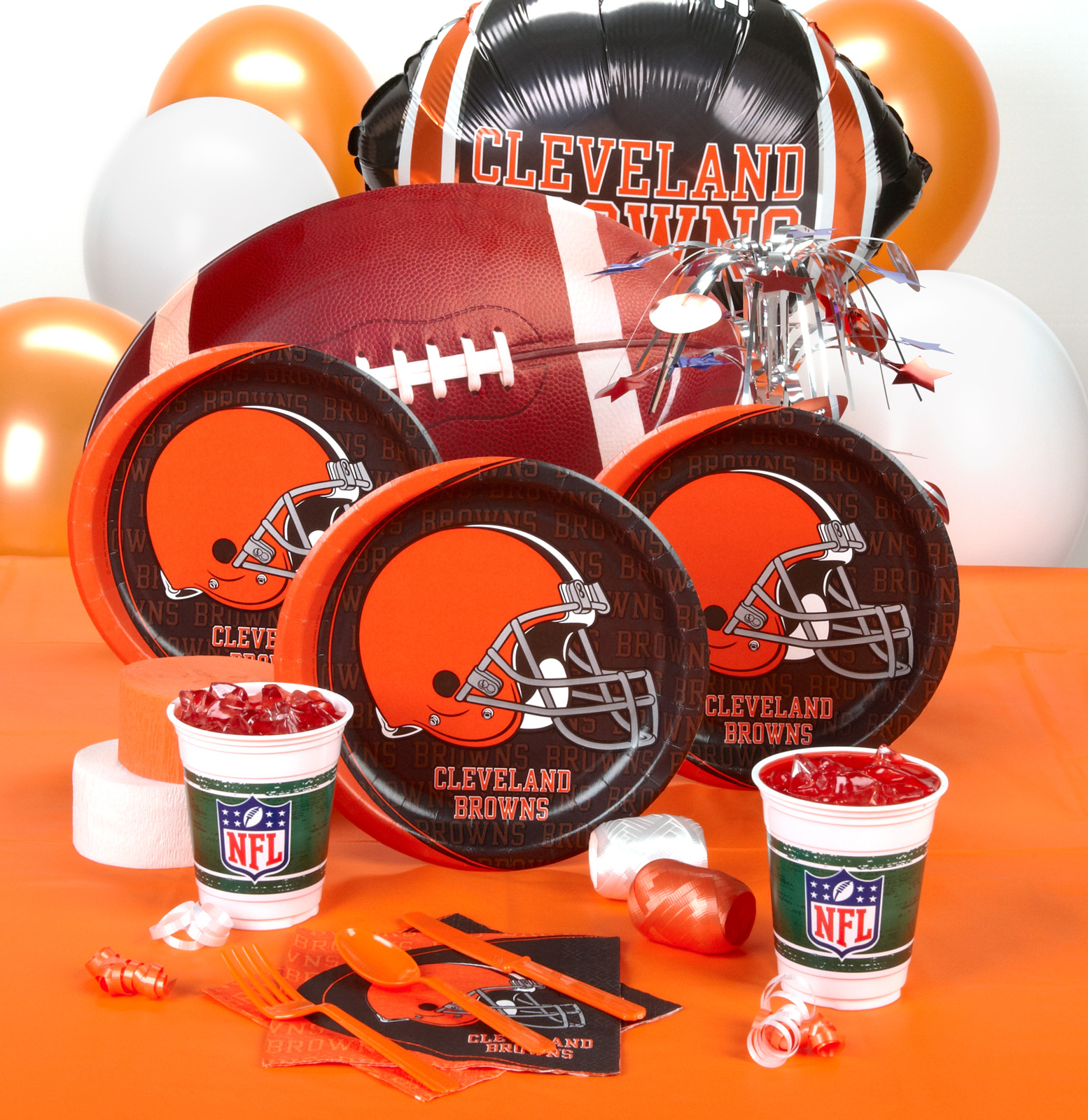 Cleveland Browns Deluxe Party Kit