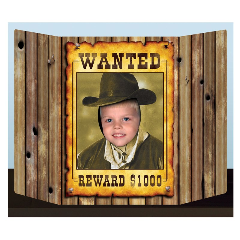 Wanted Poster Photo Prop for the 2015 Costume season.