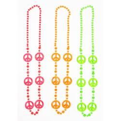 Funky Peace Beads (3 count)
