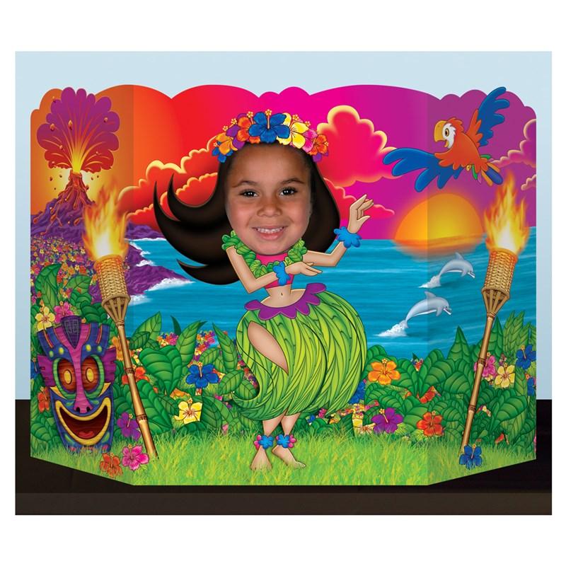 Hula Girl Photo Prop for the 2015 Costume season.