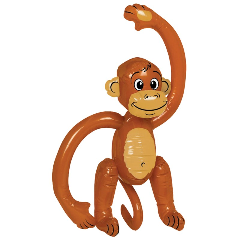 Inflatable Monkey (Small) for the 2015 Costume season.