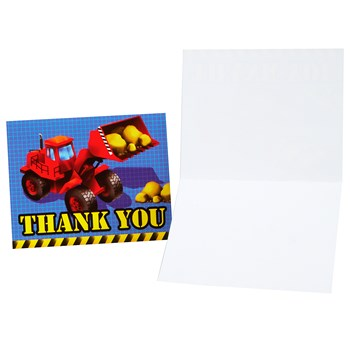 Under Construction Thank You Cards (8 count)