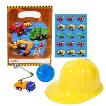 Under Construction Party Favor Kit
